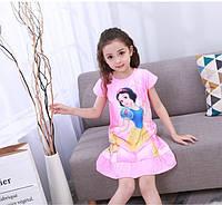 Детская ночнушка , ночная сорочка, с принцессой для девочки.