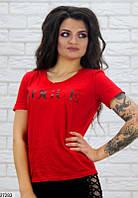 """Женская футболка """"Vogue"""" 27280 КТ-978"""
