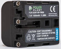 Aккумулятор PowerPlant Sony NP-FM50/QM51 1600mAh