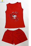 Комплект подростковый шорты с майкой, размеры от 34 до 44, Украина