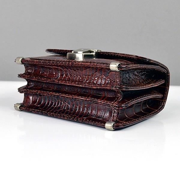 837f1b815a71 Мужская кожаная барсетка маленькая на пояс цвет кофе, цена 1 045 грн.,  купить Дніпро — Prom.ua (ID#366456467)