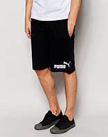 Шорты мужские Puma Пума черные (маленький принт)