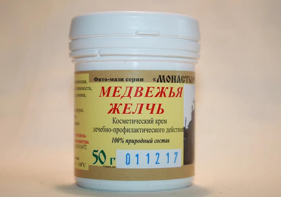 Фитокрем Медвежья желчь 50г. - ФОП Косых О.Ю. в Киеве