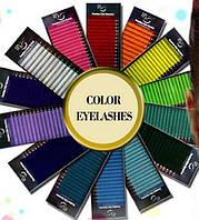 Ресницы I-Beauty цветные