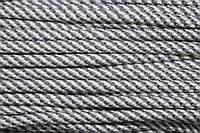 Шнур 7мм спираль (100м) св.серый+белый, фото 1