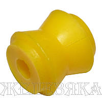 Втулка реактивной тяги ВАЗ 2101 (малая) (полиуретан желт.) (пр-во Липецк, Россия)