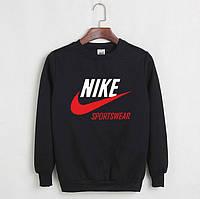 Світшот чоловічий з Nike Sportswear Найк Кофта чорна (репліка)