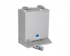 Приточно-вытяжная установка ВЕНТС ВУТ 300 ЭВК мини ЕС, VENTS ВУТ 300 ЭВК мини ЕС с рекуперацией тепла
