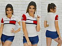 """Женская футболка поло """" Tommy Hilfiger"""""""