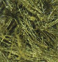 Турецкая пряжа для вязания нитки Alize  DECOFUR (Декафур) травка 322 хаки