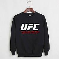 Свитшот мужской с принтом UFC ЮФС Кофта черная (реплика)