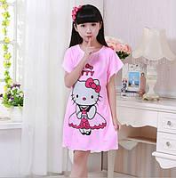 Ночная сорочка для девочки  с Хелло Китти.