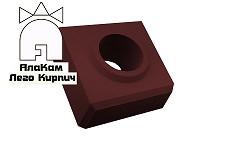 Доборный Lego кирпич «АлаКам» коричневый