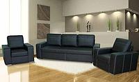 Комплект мягкой мебели London 3+1+1, механизм еврокнижка