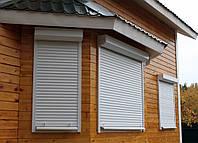 Защитные рольставни на окна Алютех