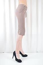 Модные бриджи женские и подростковые летние легкие, фото 3