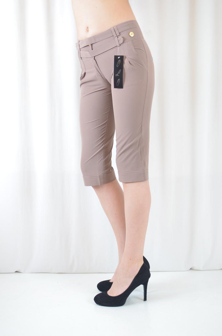 Модные бриджи женские и подростковые летние легкие
