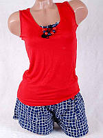 Комплект женский майка+шорты 92119-1