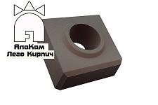 Облицовочный Lego кирпич «АлаКам» серый