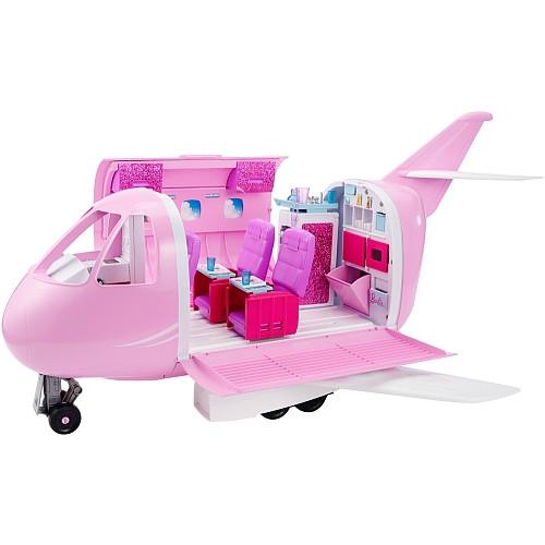 Гламурный самолет Барби