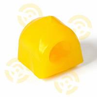 Подушка штанги стабилизатора ВАЗ 2121 переднего (мал.) (полиуретан желт.) (пр-во г.Липецк, Россия)