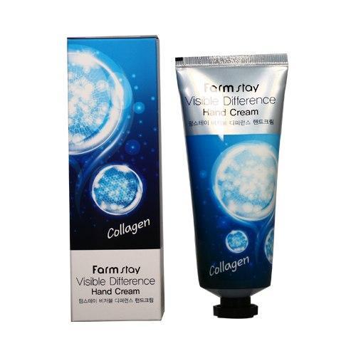 Крем для рук FarmStay Visible Difference Collagen Hand Cream