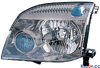 Фара Nissan X-Trail 01-07 правая (DEPO) механич. 215-11A4R-LD-E1