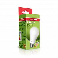 """LED Лампа EUROLAMP ЕКО серия """"D"""" А60 10W E27 3000K"""