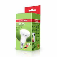 """LED Лампа EUROLAMP ЕКО серия """"D"""" R50 спот 6W E14 3000K"""