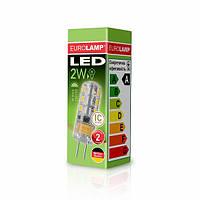 LED Лампа EUROLAMP G4 2W 3000K 220V