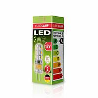 LED Лампа EUROLAMP G4 2W 3000K 12V