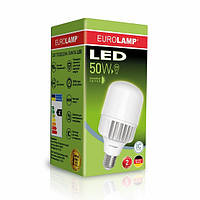 LED Лампа EUROLAMP High Power 50W E40 6500K