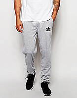 Спортивные штаны Adidas Адидас серые (реплика)