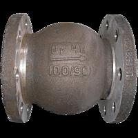 Обратный клапан 19нж63бк Ду100 Ру40