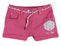 Котоновые летние шорты для девочки подростковые 6-14 лет Pepperts