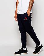 Молодежные штаны спортивные Reebok Рибок черные