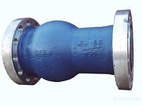 Клапан обратный поворотный 19нж11бк Ду100 Ру40