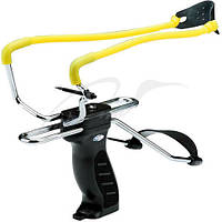 Рогатка Man Kung MK-SL06BK с упором ц:черный/желтый