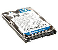 Жесткий диск 2.5' 500Gb Western Digital Blue, SATA3, 8Mb, 5400 rpm (WD5000LPVX) (Ref)