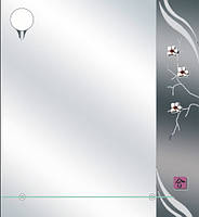 Зеркала для ванной прямоугольные