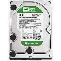 Жесткий диск 3.5' 3Tb Western Digital Green, SATA3, 64Mb, IntelliPower (WD30EZRX) (Ref)