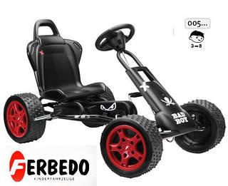 FERBEDO Картинг с педалями Bad Boy Kolc 3-8 лет