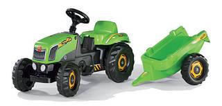Rolly Toys Трактор с Прицепом Kid Зеленый
