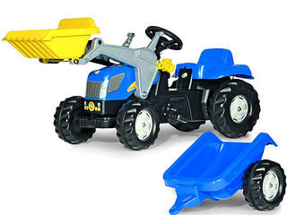 Rolly Toys Трактор Kid New Holland