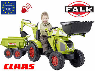 FALK Трактор с прицепом CLAAS AXOS