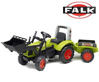 FALK Трактор с прицепом CLAAS ARION зеленый