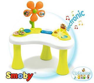SMOBY Развивающий активный столик для детей Розовый