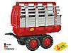 Rolly Toys Прицеп Hay Wagon красный