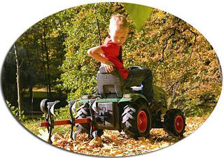 Rolly Toys Аксессуар-плуг для трактора