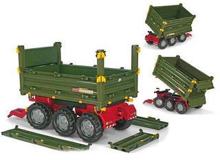 Rolly Toys Прицеп MuLittle Tikesi Trailer 3 оси Зеленый